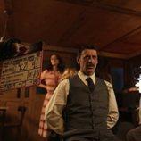 Nacho Fresneda en el rodaje de la cuarta temporada de 'El Ministerio del Tiempo'