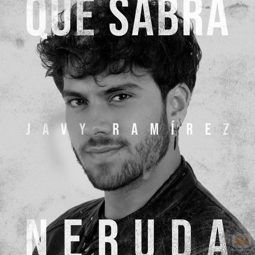 """Portada de """"Qué sabrá Neruda"""", single de Javy Ramírez ('OT 2020')"""