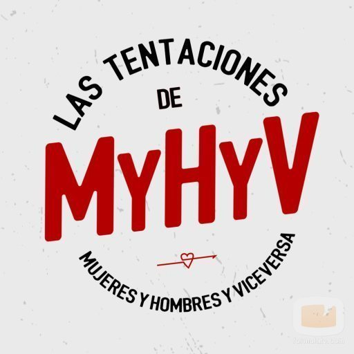 Logotipo de 'Las tentaciones de Mujeres y Hombres y Viceversa'