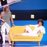 Belinda Washington hace de Rosana junto a la artista en la Gala 6 de 'Tu cara me suena 8'