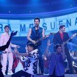 Los Gemeliers son los Jonas Brothers junto a su hermano mayor en la Gala 6 de 'Tu cara me suena 8'