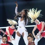 Nia, en su actuación estrella de la Gala 5 de 'OT 2020'