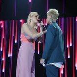 """Samantha y Hugo, cantan """"Vas a quedarte"""" en la Gala 5 de 'OT 2020'"""
