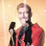 Gianmarco y Adara, felices y enamorados en la gala final de 'El tiempo del descuento'