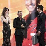 Adara y Jorge Javier entregan el maletín a Gianmarco, ganador de 'El tiempo del descuento'