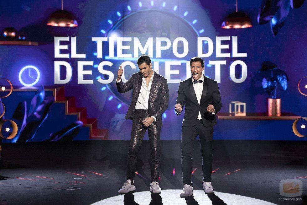 Gianmarco y Kiko Jiménez conocen la decisión de la audiencia en 'El tiempo del descuento'