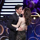 Gianmarco y Adara se besan en la gala final de 'El tiempo del descuento'