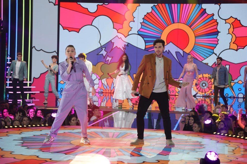 """La actuación grupal es """"Sabor de amor"""" en la Gala 5 de 'OT 2020'"""