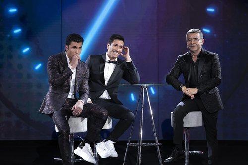 Jorge Javier entrevista a Kiko Jiménez y Gianmarco, finalistas de 'El tiempo del descuento'