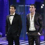 Gianmarco Onestini y Kiko Jiménez, finalistas de 'El tiempo del descuento'