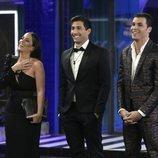 Anabel Pantoja, Gianmarco Onestini y Kiko Jiménez, finalistas de 'El tiempo del descuento'