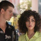 Guzmán y Nadia en la temporada 3 de 'Élite'