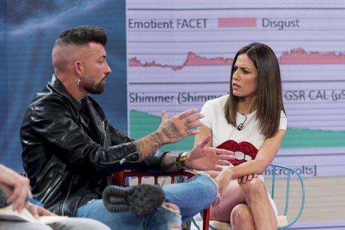 Nuria Marín y Rubén Sánchez, primer invitado de 'La habitación del pánico'