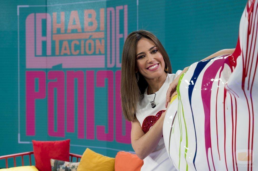 Nuria Marín es la presentadora de 'La habitación del pánico'