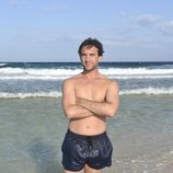 Antonio Pavón luce torso desnudo como concursante de 'Supervivientes 2020'
