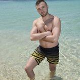 Cristian Suescun posa en bañador como concursante de 'Supervivientes 2020'