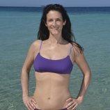Elena Rodríguez posa en bañador desde la playa de 'Supervivientes 2020'
