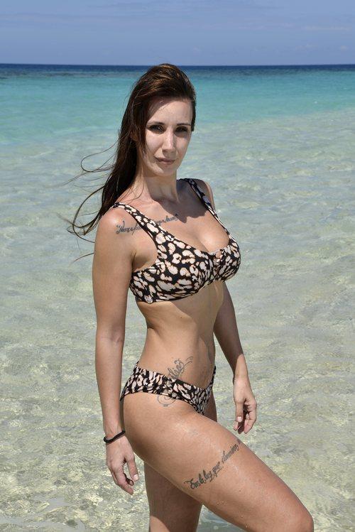 Fani Carbajo, de 'Supervivientes 2020', posa en bikini desde Honduras