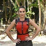 Lara Álvarez, presentadora de 'Supervivientes 2020', en la Gala 1