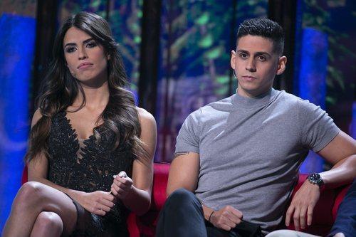 Sofía Suescun y Christofer comparten sofá en la Gala 1 de 'Supervivientes 2020'