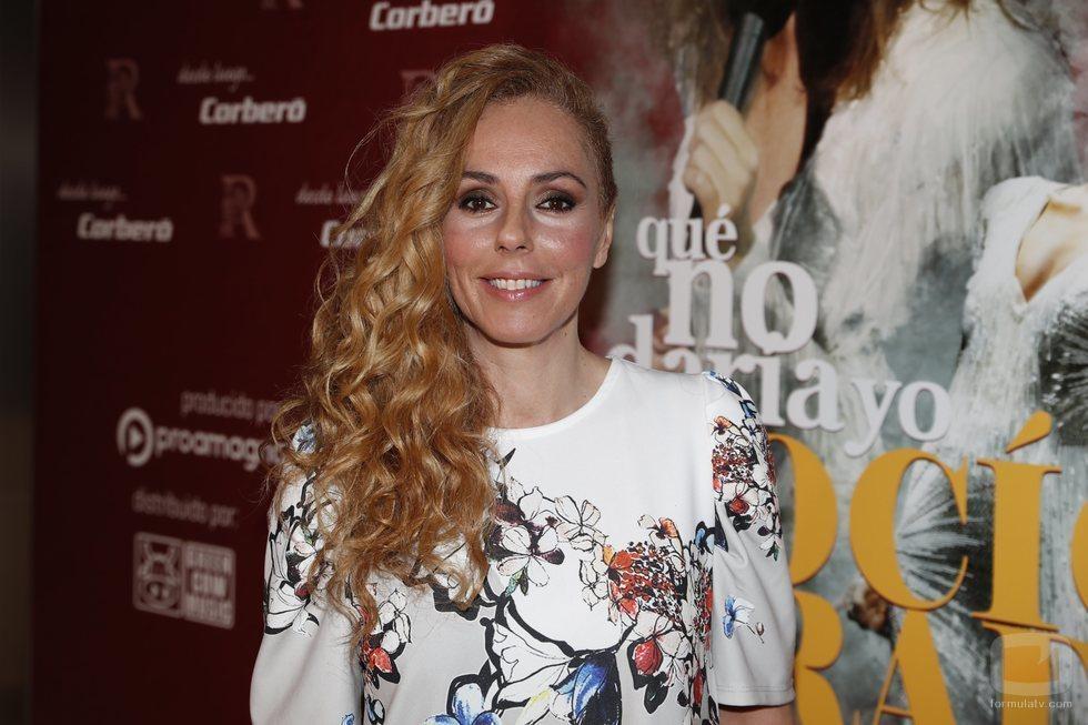 Rocío Carrasco en la presentación de 'Qué no daría yo por ser Rocío Jurado'