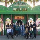 Protagonistas y creadores de 'Paraíso', serie de Movistar+