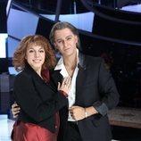 Jorge González y Gisela en la Gala 7 de 'Tu cara me suena 8'