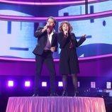 Jorge González y Gisela son Bill Medley y Jennifer Warnes en la Gala 7 de 'Tu cara me suena 8'
