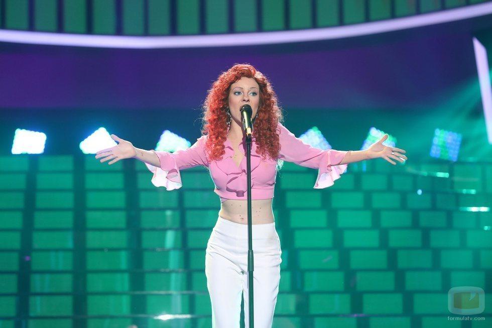 María Isabel es Pastora Soler en la Gala 7 de 'Tu cara me suena 8'