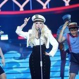 Nerea Rodríguez imita a Meghan Trainor en la Gala 7 de 'Tu cara me suena 8'