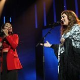 Nia canta junto a Estrella Morente en la Gala 6 de 'OT 2020'