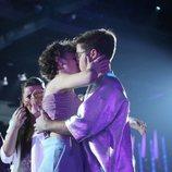 Anne y Gèrard se besan en la Gala 6 de 'OT 2020'