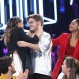Gèrard, favorito en la Gala 6 de 'OT 2020', recibe el ánimo de Anaju y Nia