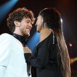 """Jesús y Nia cantan """"La última noche"""" en la Gala 6 de 'OT 2020'"""