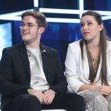 Gèrard y Eva, pareja en la Gala 6 de 'OT 2020'