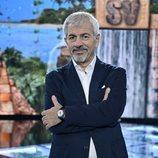 Carlos Sobera, en 'Supervivientes 2020: Tierra de nadie'