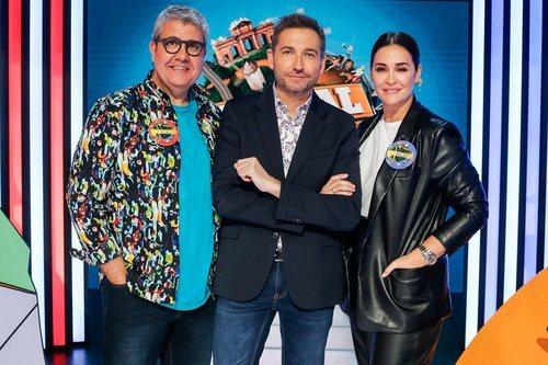 Frank Blanco junto a Flo y Vicky, en 'Typical Spanish'