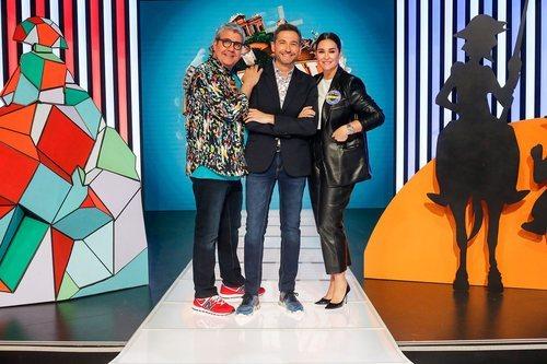Frank Blanco, Flo y Vicky Martín Berrocal, en 'Typical Spanish'