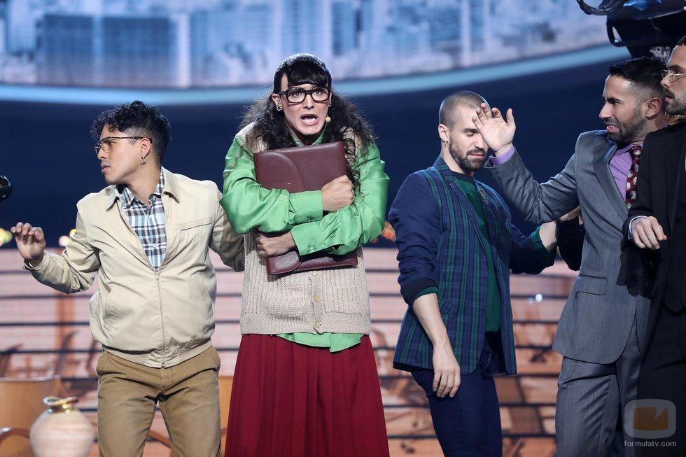 Jorge González es Betty la fea en la Gala 8 de 'Tu cara me suena 8'
