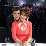 Manel Fuentes e Irma Soriano en la Gala 8 de 'Tu cara me suena 8'