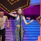 Nerea Rodríguez es Kylie Minogue en la Gala 8 de 'Tu cara me suena 8'