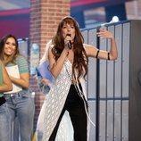 Rocío Madrid como Greta y los Garbo en la Gala 8 de 'Tu cara me suena 8'