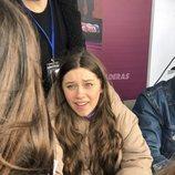 Eva, en las primeras firmas de discos de 'OT 2020'