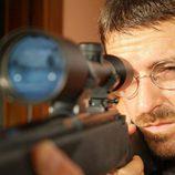 Francotirador en la tvmovie 'Una bala para el Rey'