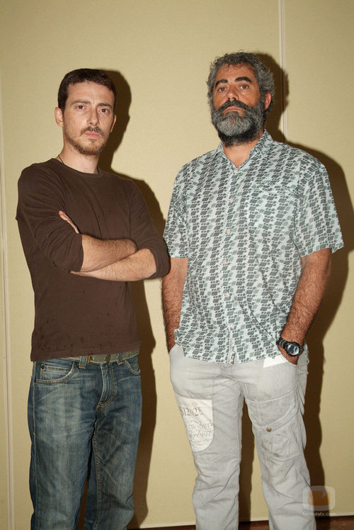 Víctor Clavijo y Carlos Blanco