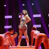 "Anaju canta ""Tusa"" en la Gala 7 de 'OT 2020'"