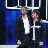 Roberto Leal junto a Rafa, el expulsado de la Gala 7 de 'OT 2020'