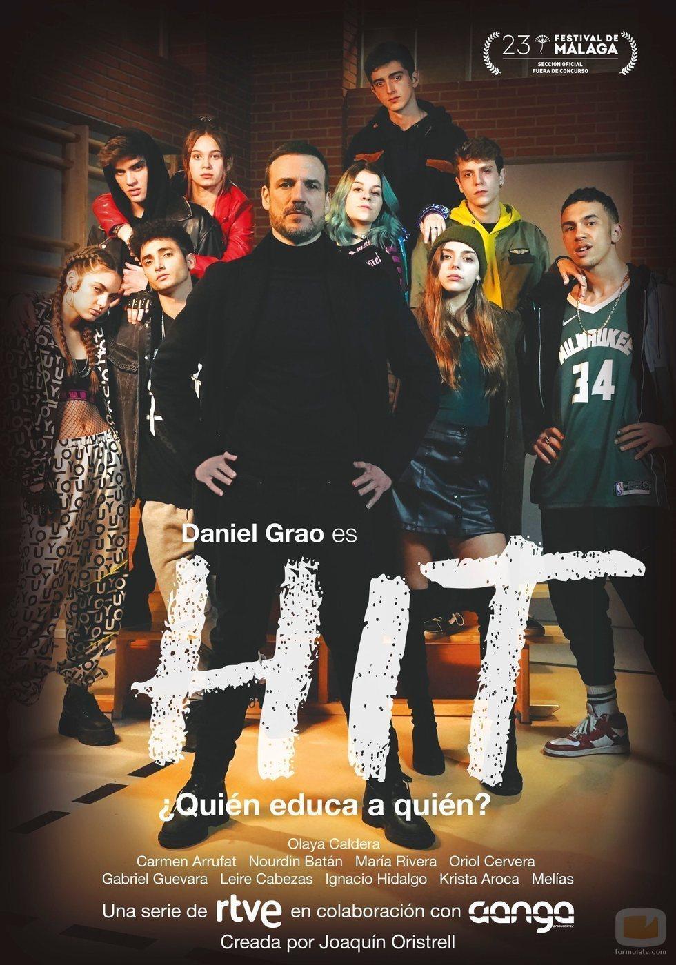 Póster promocional de 'HIT', serie juvenil de TVE