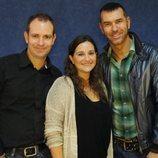 Pepe Baynat, Carme Juan y Ricardo Jordán, presentadores de 'A la Babalà'