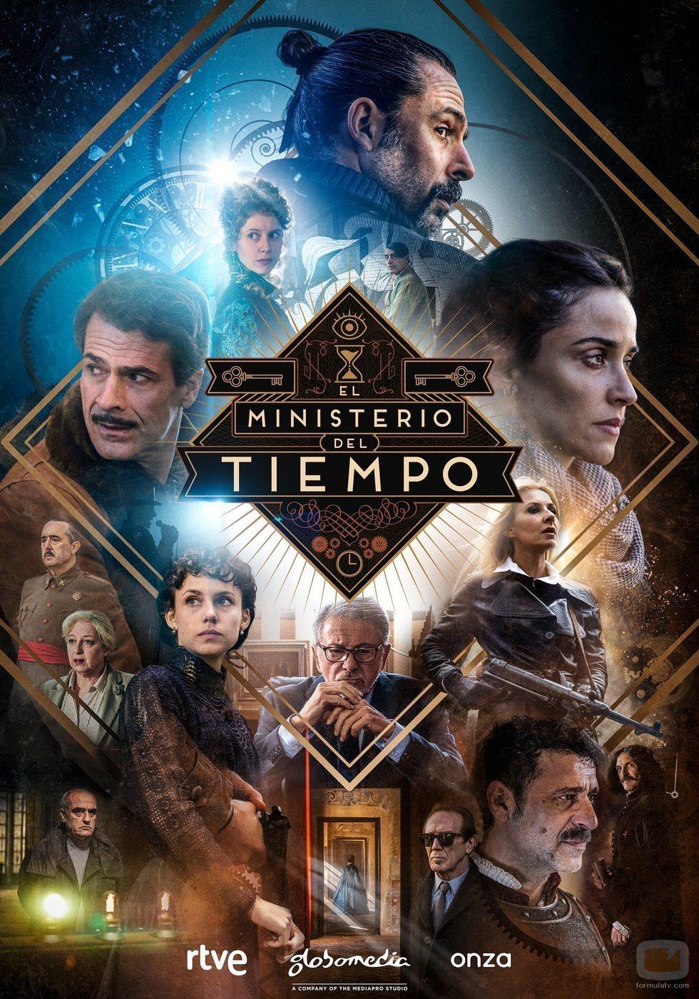 Póster de la cuarta temporada de 'El Ministerio del Tiempo'